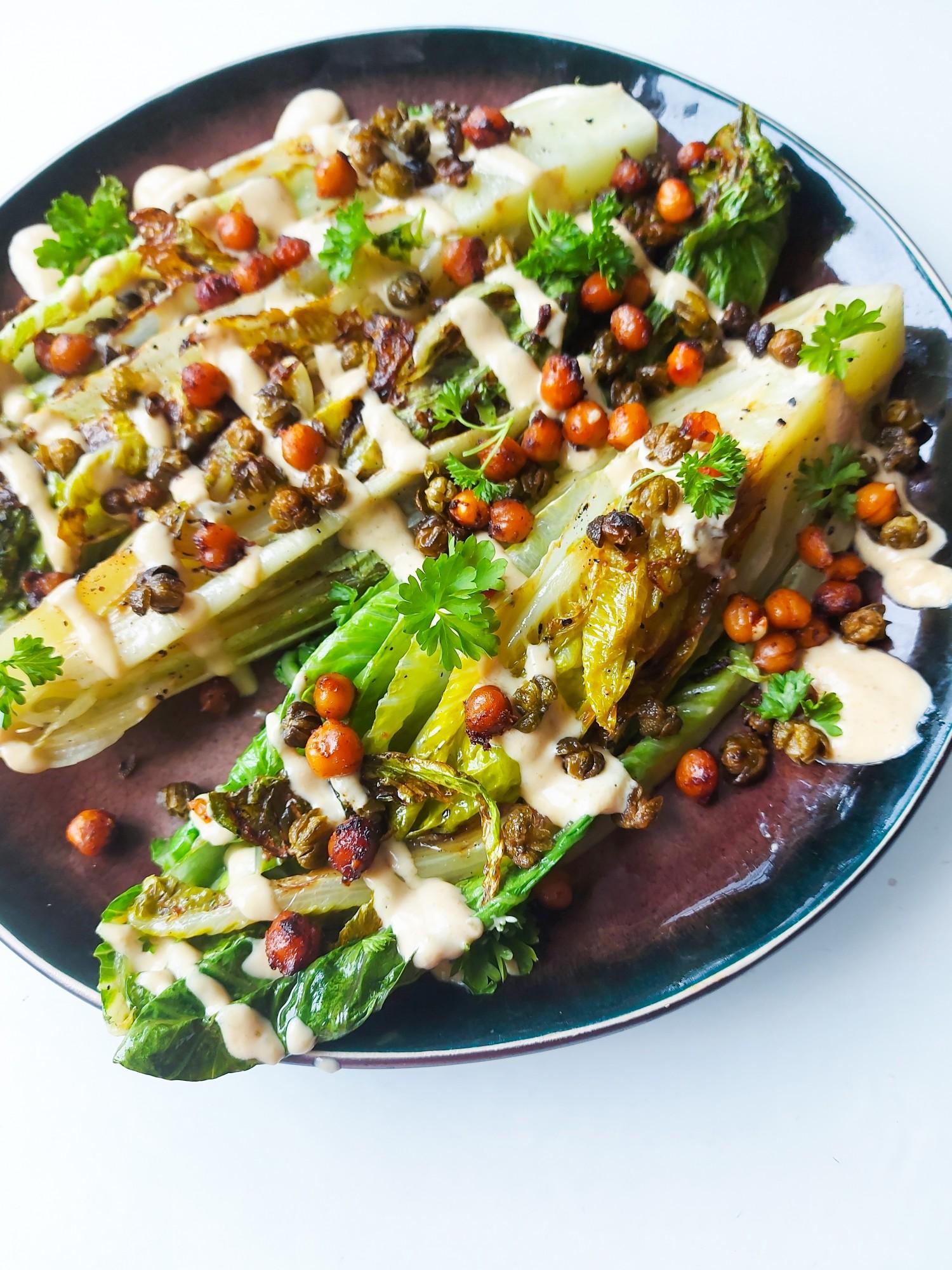 Caesar Salad op de Grill